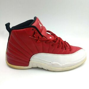 Nike Air Jordan 12 Men's 2016 Retro Gym Red 130690-600 Sz 10 EU 44  READ