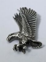Men's Women's Sterling Silver 925 Eagle Charm Free Shipping #80692