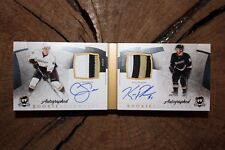 2010 11 UD THE CUP CAM FOWLER KYLE PALMIERI DUAL AUTOGRAPHED ROOKIE BOOKMARKS