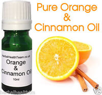 100% Pure Orange & Cinnamon Oil 10ml For Aromatherapy, Massage, Cheapest on eBay
