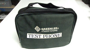 * Greenlee Test Phone w/ Case AT&T Phone #210 .. WP-0010