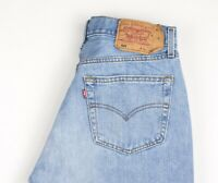 Levi's Strauss & Co Hommes 501 Jeans Jambe Droite Taille W34 L34 AVZ481