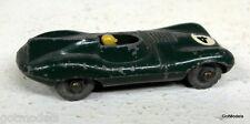 Lesney Toys 41 Jaguar D-Type Race car Green Plastic wheel Diecast Model Toy Car