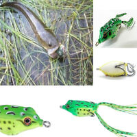 Practical Topwater Soft Frog Fishing Lure Surface Lure For Cod Barra Bass Perch