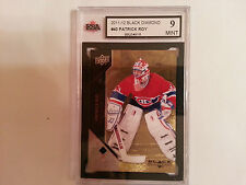 Patrick Roy 2011-12 Black Diamond GOLD Card #5/10 KSA Graded 9!!!