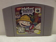 NINTENDO 64 RUGRATS SCAVENGER HUNT GAME CARTRIDGE ONLY