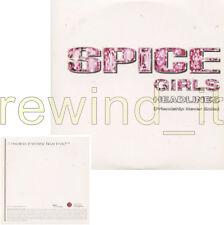 "SPICE GIRLS ""HEADLINES"" RARE CDsingle PROMO"