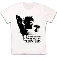 The Revolution Will Not Be Televised Gill Scott Heron Retro Unisex T Shirt 324
