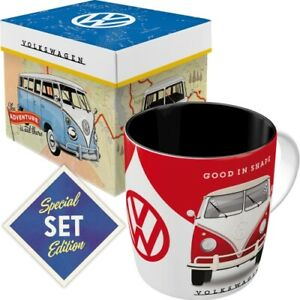 VW Kaffeetasse mit Box Becher 330 ml. coffee mug Special Edition Good in Shape