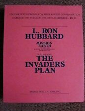 L Ron Hubbard Mission Earth Vol1 Uncorrected Proof Invaders Plan Manuscript Type