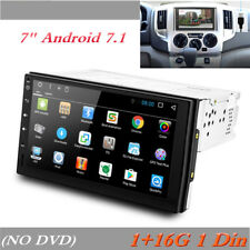 "7"" Android 7.1 Universal GPS Navigation Radio Stereo Audio Player 1+16G 1 Din"