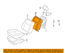 Scion TOYOTA OEM 04-06 xA Front Seat-Back Cushion Foam Pad 7155113160