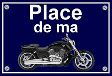 "plaque "" PLACE DE MA HARLEY DAVIDSON V ROD MUSCLE """