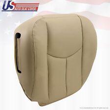 2003 to 2006 Tahoe Suburban Yukon Driver Bottom Leather Seat Cover Shale Tan