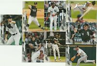2020 TOPPS SERIES ONE E Jimenez C Rodon D Cease Z Collins White Sox 8 CARD LOT