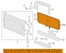 GM OEM Radiator-Grille Shutter 84193594