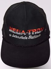 Vtg 1990s MEGA-TRON INTERSTATE BATTERIES Advertising SNAPBACK HAT TRUCKER CAP