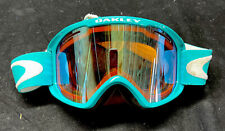Oakley Goggles Teal Snow Ski Snowboarding In Good condition