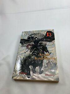 Vampire Hunter D Volume 21: Record of the Blood Battle, Jul, 2014 — Amano VHD
