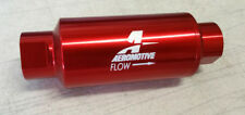 SALE Aeromotive Universal Aluminum In-Line 10 Micron Fuel Filter ORB-10 Ports