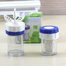 Fashion Mini Manually Contact Lens Cleaner Washer Cleaning Lenses Case Tool