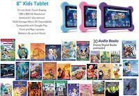 RCA Tablet (8″ Android Tablet, Bumper, Audio Book, Headphones) – Disney Edition