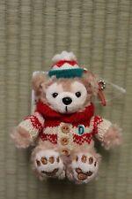 Tokyo DisneySea CHRISTMAS 2015 Duffy sweater sitting small plush strap free ship
