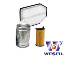 Filter Kit - JEEP WRANGLER 2.8L DIESEL CRD - OIL AIR FUEL FILTERS (2007 ONWARDS)