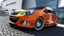 carbon CUP Spoilerlippe Opel Corsa D OPC Lippe Front spoiler Spoiler Diffusor