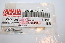 4 nos yamaha motorcycle crankshaft dowel pins tw200 bw200 xt350 ttr 93602-13177