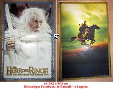 1x Herr der Ringe A3-Doppel-Poster: GANDALF der Weiße & LEGOLAS 29,5 x 45,5 cm