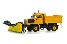 Oshkosh Snow Plow Truck - 2 Axle - YELLOW - 1/50 - Sword...