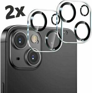 2er Kamera Schutz iPhone 13 12 11 Pro Mini Pro Max Panzer Glas Folie Camera Lins