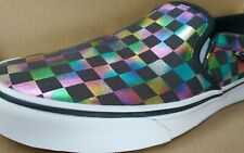 Vans Asher Slip On Women's Skate Shoes Sneakers Casual Canvas size 10 ladies