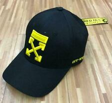 Off White Rare Black & Yellow Baseball Cap ICON Dsquared UK Seller BNWT 2020