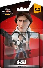 "DISNEY INFINITY 3.0 ""HAN SOLO"" STAR WARS UNOPENED FIGURE VIDEO GAMES MIB RARE"