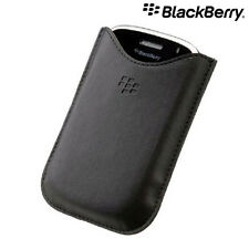 100% Genuine BlackBerry Bold 9000 Leather Pocket Pouch Case HDW-16000-001 (OEM)