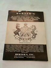 Vintage Herter's Supplement To Catalog Number 71