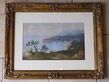 Originale künstlerische Aquarell-Malereien im Impressionismus