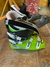 Nordica Patron Team Ski Boots (Green) + Big Gear Bag