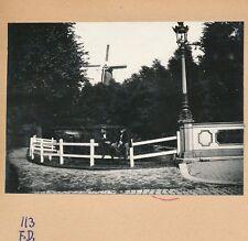 DORDRECHT c. 1900 - Moulin à Vent  Lampadaire Pays Bas - FD Hol 128