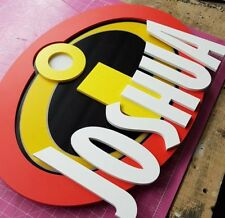 'INCREDIBLES' Door/Wall Sign Plaque for Child's Bedroom ..any name made to order