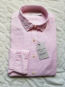 1 NWT WOMEN'S PETER MILLAR BUTTON DOWN, SIZE: SMALL, COLOR: PINK (J302)