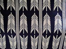 Japanese Kimono Indigo Blue White Cotton Craft Sewing Quilting Unused Vintage