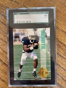 PENN STATE NITTANY LIONS O.J. MCDUFFIE 1993 CLASSIC FOUR SPORT #137 COLLEGE RC