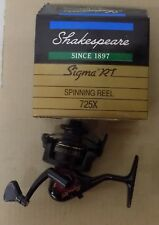 Shakespeare Sigma RT Spinning Reels (Select One)  NIB