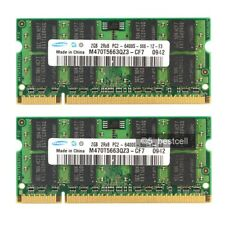 New Samsung 4GB 2X2GB PC2-6400 DDR2-800 800Mhz 200pin Sodimm Laptop Memory