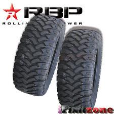 2 Rolling Big Power RBP Repulsor MT LT 35X12.50R18 123Q All Terain Mud Tires