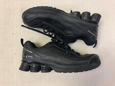 Nike Shox 381261-001 Black Sz 3.5Y Youth Athletic Shoes Sneakers S02