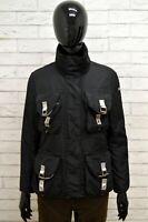 Piumino Donna PEUTEREY Taglia Size S Giubbino Giubbotto Bomber Jacket Woman Nero
